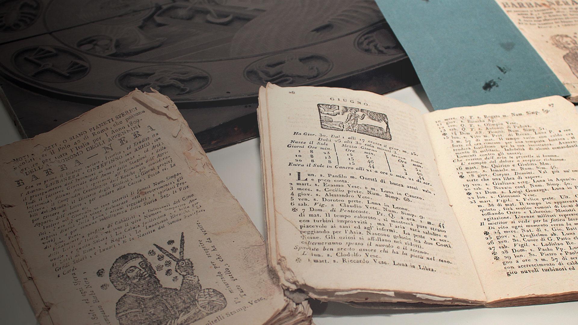 dettaglio manoscritti Barbanera