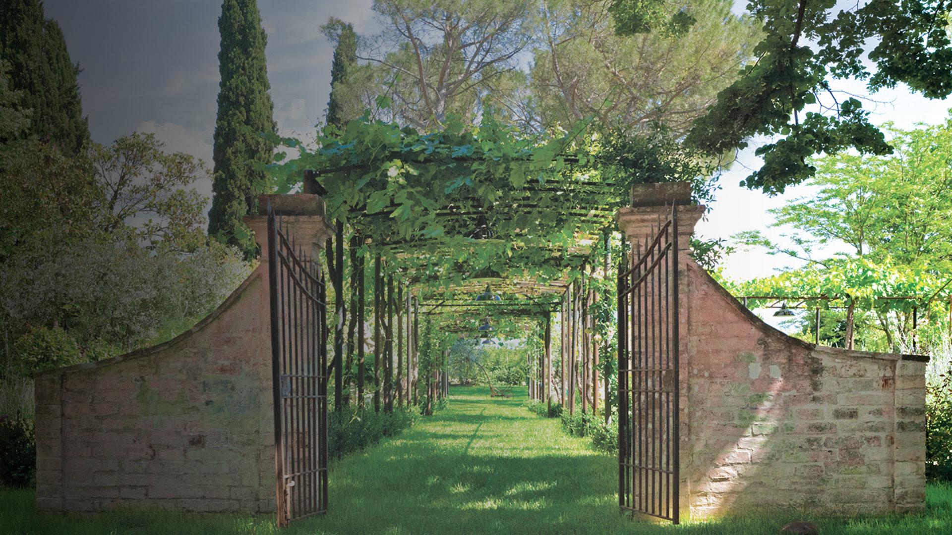 Dettaglio giardino Sede barbanera