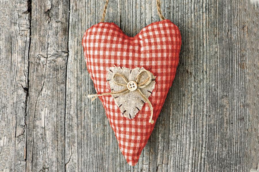 cuore di stoffa Barbanera