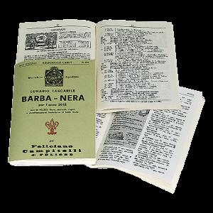Libro Barbanera Lunario tascabile
