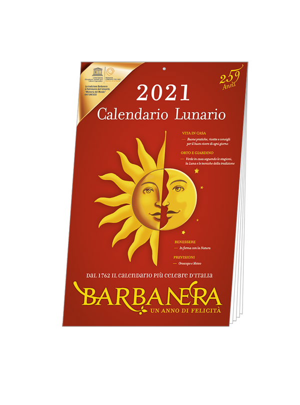 Calendario Barbanera 2021   Barbanera